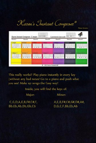 Karen's Instant Composer: Piano version (English Edition)