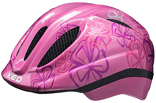 KED Meggy Trend Helm Kinder pink Flower Kopfumfang XS | 44-49cm 2020 Fahrradhelm