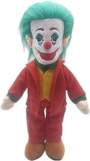 APRILALEX Kids Clown Plush Toy Figure Joker Doll for Kids Birthday Child Pillow Toy Home Decor Adornment 15 inches