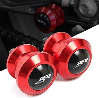 2pcs Nottolini M8*1,5 Forcellone Cavalletto Appoggi Per BMW S1000R S1000RR S1000XR S1000RR HP4-Nero