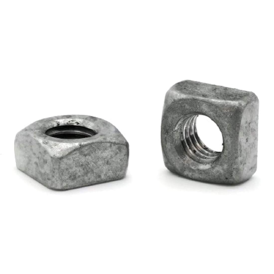 Square Nuts Hot Dipped Galvanized Grade 2-3 UNC OFFicial Max 87% OFF mail order 8