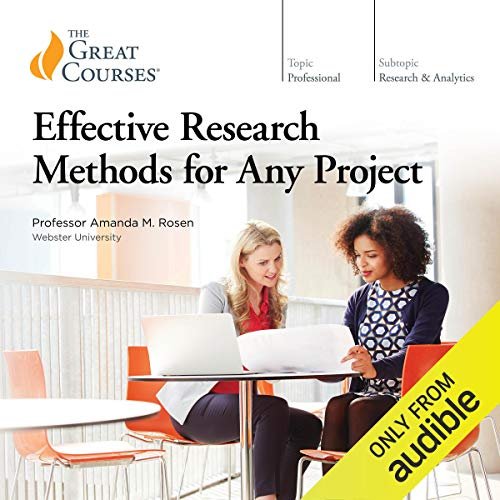 Effective Research Methods for Any Project audiobook cover art
