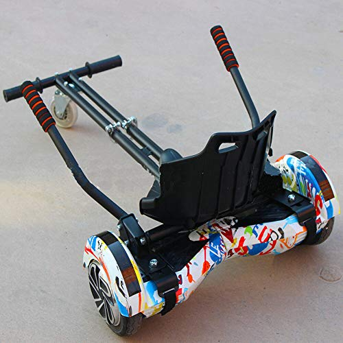 """DIFU 6.5\"""" 8\'\' 10\"""" Kohlenstoffstahl Hoverboard Hoverseat Hoverkart Hover Kart Stand Roller Zubehör für 6.5\"""" 8\"""" 10\"""" Go Kart Sitz Balance-Roller"""