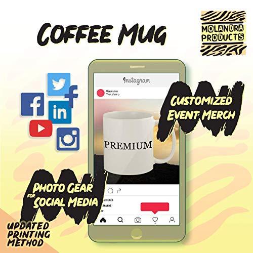 #debit - 11oz Has   htag White Coffee Mug