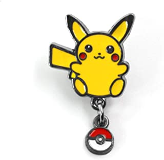 Pocket Monsters Pikachu Alloy Brooch Pin Clothing Accessories