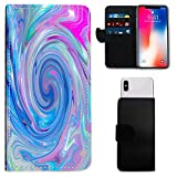 i-Tronixs ARCHOS SAPHIR 50X MULTI COLOR MARBLE WALLET CASE