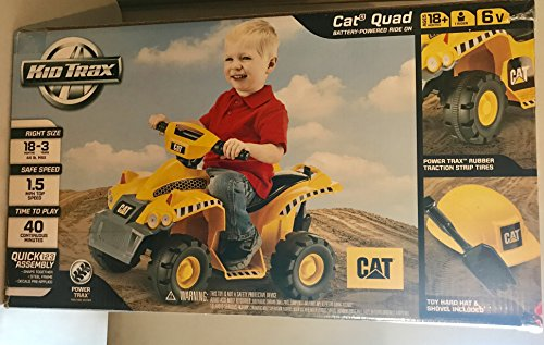 Cheap Kid Trax CAT 6V Quad Ride On