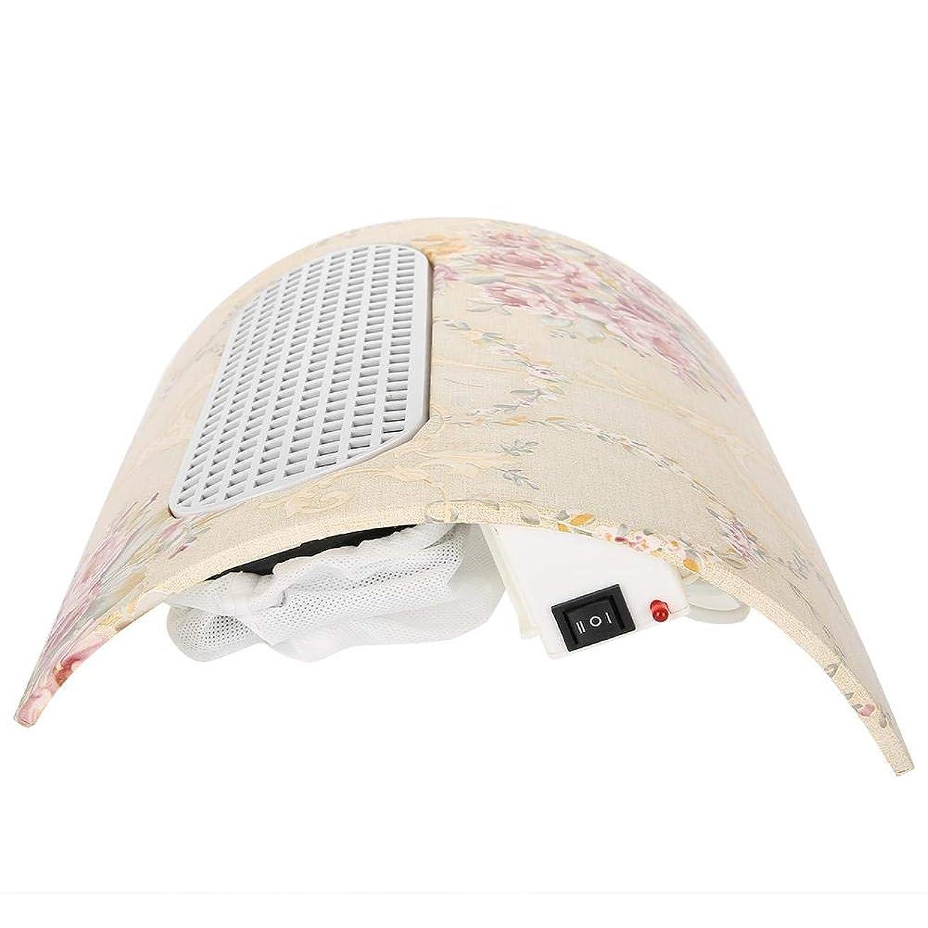 地図喪習慣TOPINCN ネイルダストコレクター 3ファン掃除機ツール ネイルアート ソロンツール 100-240V ネイルサクション(US plug)
