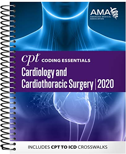 CPT Coding Essentials Cardiology and Cardiothoracic Surgery 2020: Includes CPT to Icd Crosswalks