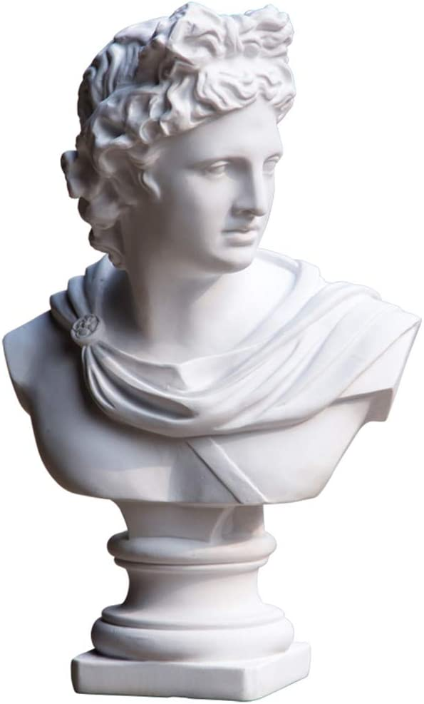 SY-Home Apollo Bust Bust Sculpture Decoration, Resin Handicraft