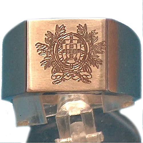Patrickgrabación de caballero de acero grabado Portugal con armario, tallas 56 a...