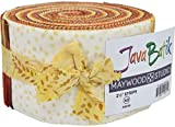 Java Batiks Sunburst Strips Jelly Roll Maywood Studio, 40