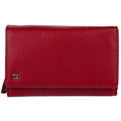 HJP Pfeifle Tinta 3542 Damengeldbörse Leder 15x10x4cm (rot)