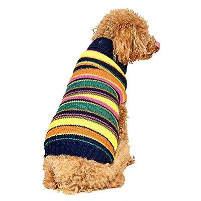 Ihoming Dog Sweater Pet Autumn Winter Sweater K...