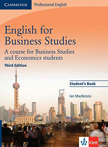 English for Business Studies: Student\'s Book