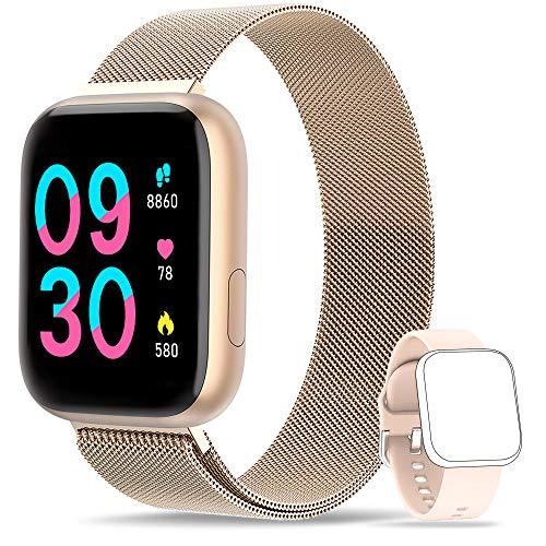 WWDOLL Smartwatch, Reloj Inteligente IP67 con Monitor Rítmo