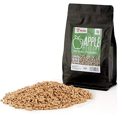 BBQ-Toro Apple Pellets in Legno di melo al 100% Pellet in melo per Grill, Smoker, Pellet per forni...