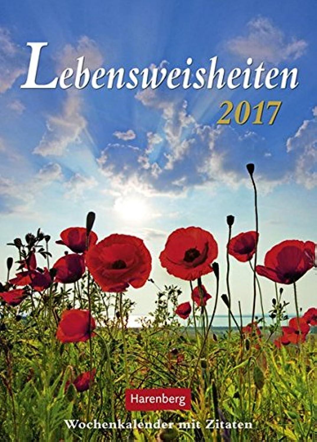 表向きレディ他の場所Lebensweisheiten 2017: Wochenkalender mit Zitaten