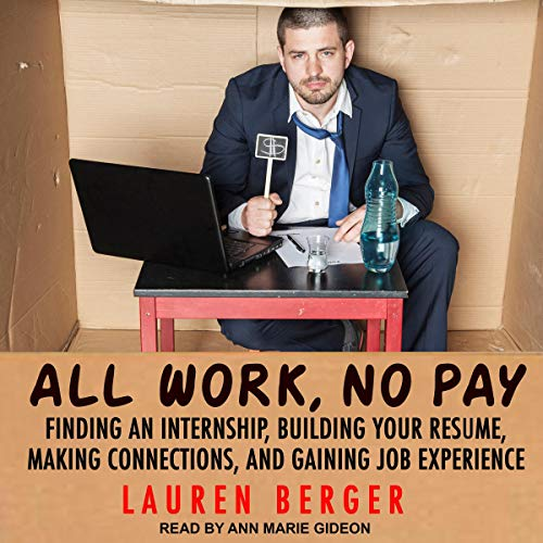 All Work, No Pay audiobook cover art