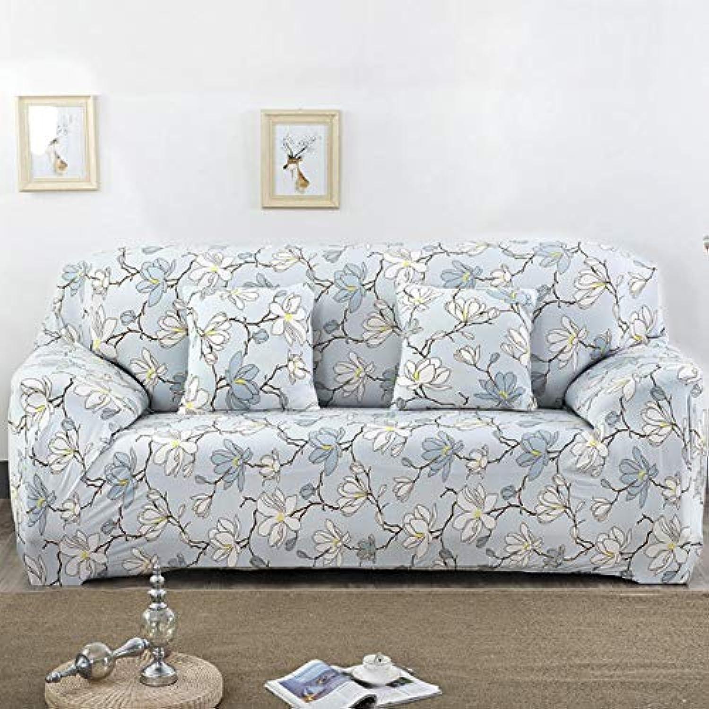 Stretch Elastic Sofa Cover Cotton Sofa Towel Slip-Resistant Sofa Covers for Living Room 1 2 3 4 Seater funda Sofa   colour22, Two-Seater