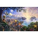 NO BRAND Jigsaw Puzzle-Adultos 1000 Piezas de Rompecabezas de Madera 500 de los niños de Dibujos Animados Juguetes educativos Pintura Decorativa Pinocho Puzzle (Size : 500 Pieces)