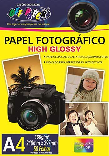 Off Paper 59, Papel Fotográfico A4 - 210 x 297mm, 50 Folhas