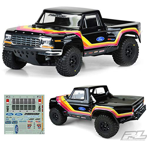 Pro-Line Racing Clear Body, 1979 Ford F-150 Race: 1/10 Short Course Trucks, PRO351900