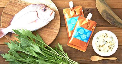 離乳食無添加ベビーフードオーガニック有機無農薬野菜天然だしBabyOrgente鯛と水菜おじやタイプ