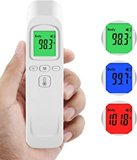 Non Contact Forehead Thermometer Instant Accurate Reading Infrared Digital Thermometer with Fever Alarm for Adults Baby Indoor and Outdoor Use
