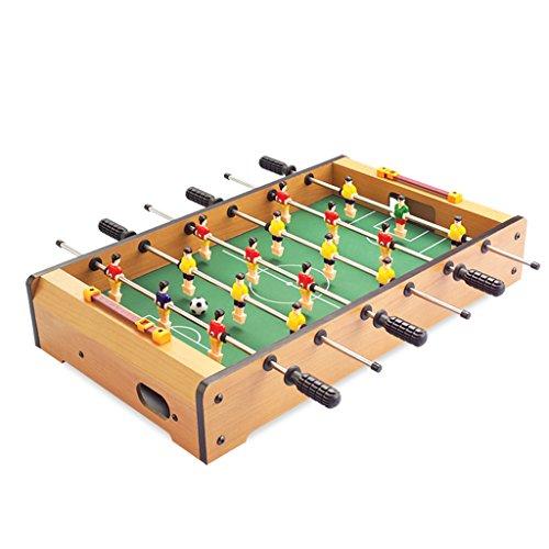 Chunse Tischfußballmaschine, Hölzernes Fußballbrett, Familienfußballspiel, Mini Innenspielwaren, DIY Zusammenbaugebrauch, Tischplattenspielzeugspiele (18.8 * 11 * 3.2 Zoll)
