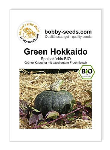 Bobby-Seeds BIO-Kürbissamen Green Hokkaido BIO Portion