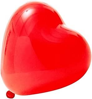 Globos del corazón del amor