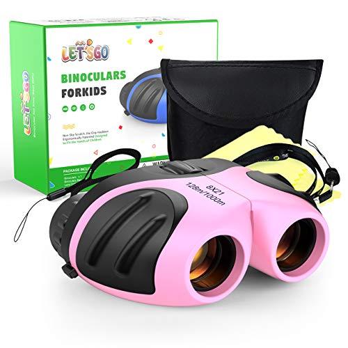SOKY Geschenke für Mädchen ab 3-8 Jahre, Junge Spielzeug für draußen Fernglas für Kinder Ferngläser Testsieger Geschenke für Mädchen 3-8 Jahre Gastgeschenke für Kinder 3-8 Jahre Billiges Spielzeug