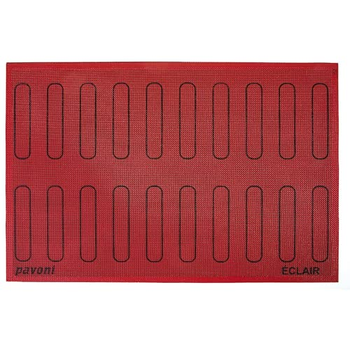 Pavoni Forosil Eclair Microperforated Mat with 20 Outlines, Each 0.98 Inch x 4.92 Inch