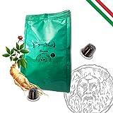 Café Italiano Bocca Della Verità Café Caramelo al GINSENG - 100 cápsulas - compatible Nespresso