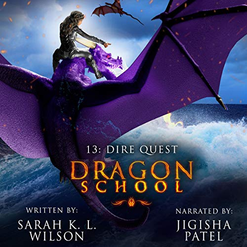 Dragon School: Dire Quest audiobook cover art