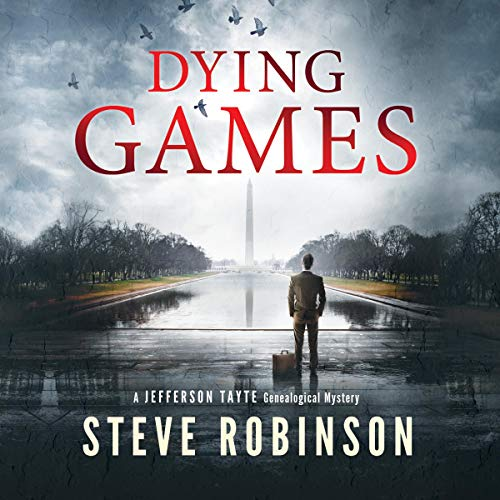 Dying Games audiobook cover art