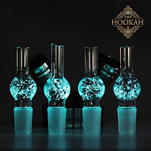 4 Stück Glas Schliffadapter WOODOO EYE von THE HOOKAH |Für 18/8 Schliff |Wasserpfeife/Shisha |Glasschliffadapter Set