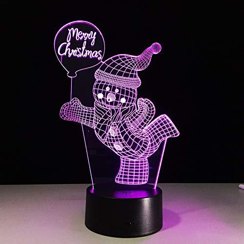 Power Bank LED USB nachtlampje kerstcadeau lamp voor kinderen 3D lichten met bewegingssensor tafellampen voor slaapkamer