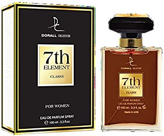7TH ELEMENT CLASSY BY DORALL COLLECTION PERFUME FOR WOMEN 3.3 OZ / 100 ML EAU DE PARFUM SPRAY