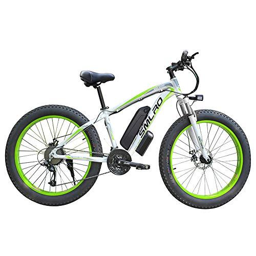 WFIZNB Bicicletas de montaña eléctricas para Adultos Hombres 2020 27 Velocidad 13Ah...