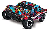 Traxxas Slash 1/10 Scale 2WD Short Course Racing Truck with TQ 2.4GHz Radio System, Hawaiian