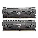 Viper Steel DDR4 3200 32GB (2x16GB) C19 Módulo de Memoria Alto Rendimiento Gris PVS432G320C6K