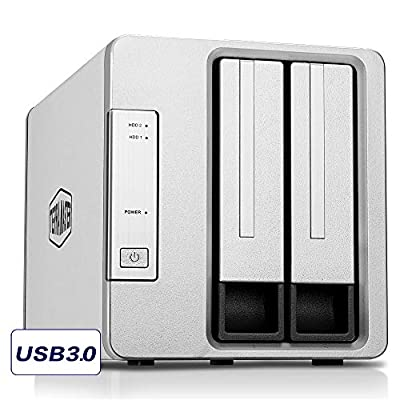 TerraMaster Direct Attached Storage Unit USB3.0 USB3.1 Superspeed RAID Storage Enclosure by TerraMaster