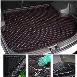 ZhengELE Lado Alto Custom Car Tronco Mat for Peugeot 308 Todos los Modelos...