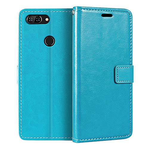 Lenovo S5 Wallet Case, Premium PU Leather Magnetic Flip Case Cover with Card Holder and Kickstand for Lenovo K520