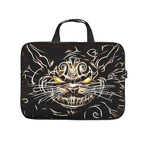 cat artistic monster Laptop bag Pattern Laptop Case Bag Colorful Dust-Proof Laptop Sleeve with Portable Handle for Women Men white 13 zoll