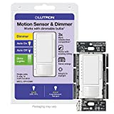 Lutron Maestro LED+ Motion Sensor Dimmer Switch | No Neutral Required...