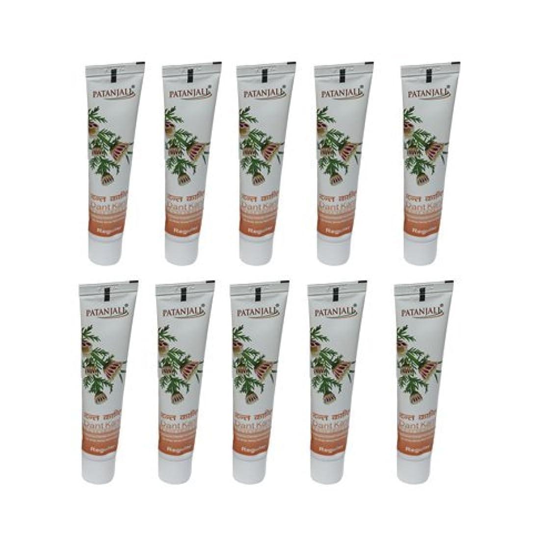 アノイ親密な即席10 x Patanjali Dant Kanti Toothpaste Dental Cream 100gm (Pack of 10) [並行輸入品]