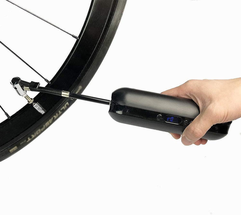 スポーツ用品 道MTBのバイクおよび車USBのためのLcd圧力Dispayの充満自転車の折衷的な高圧床ポンプ スポーツアクセサリー